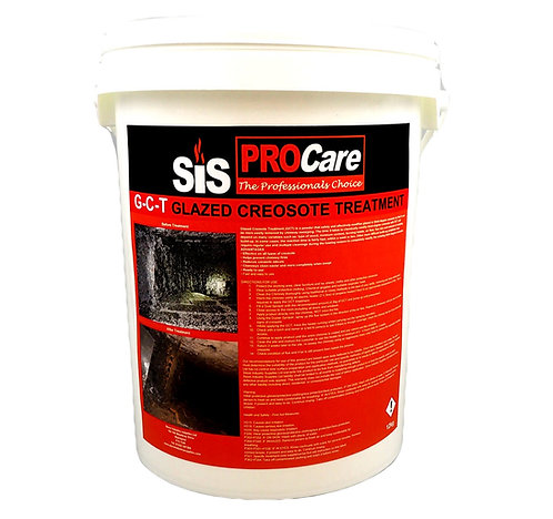 SIS - GCT - Glazed Creosote Treatment Creaway Hotspot Chimney Cleaner