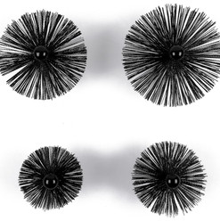 chimney sweep brushes