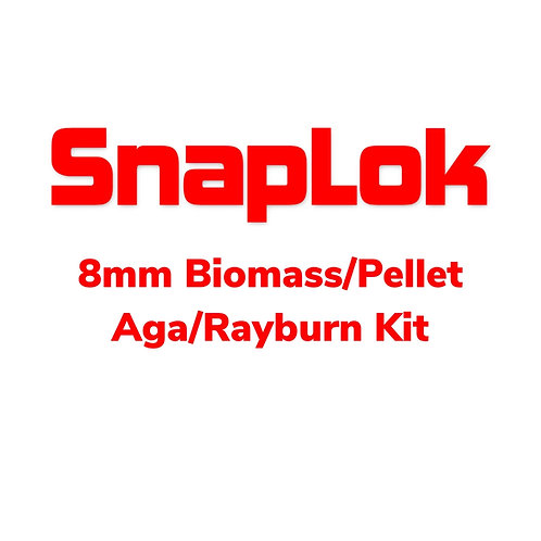 SnapLok 8mm Stainless Steel Liner Power Sweep - PSLK08Kit(Bag) - Complete Set