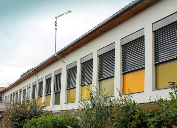 Rénovation énergétique d'une école