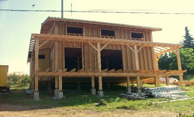 Construction à Vesseaux