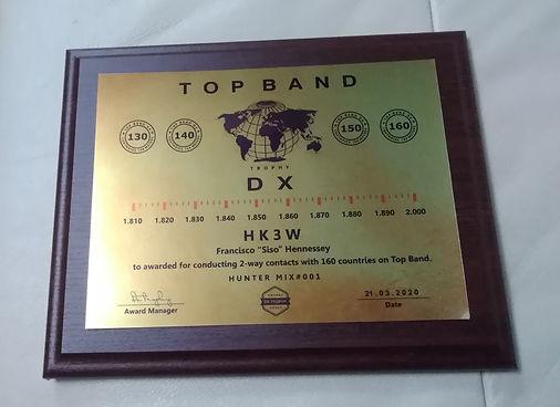 top band