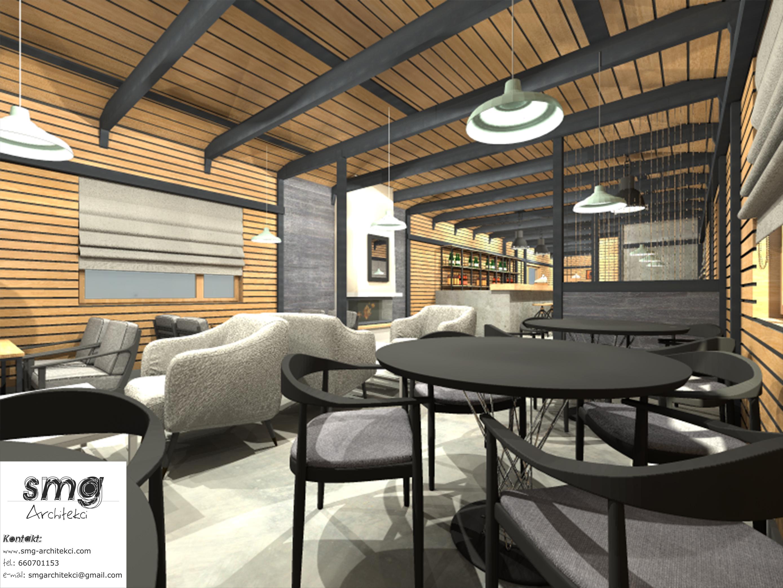 Wnętrze restauracji- Stepnica