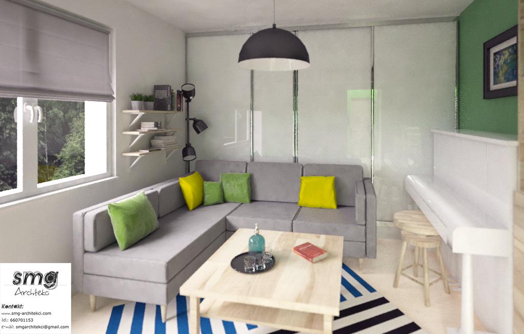 Wnętrze mieszkania- Szczecin