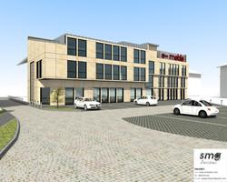 Adaptacja budynku na sklep wielkopow