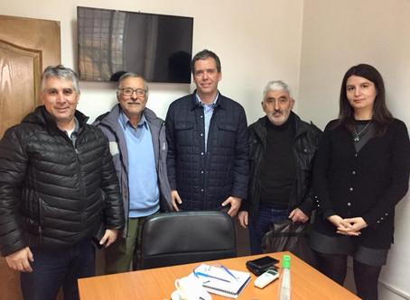 Senador se reúne con Comité de APR La Invernada de Pinto
