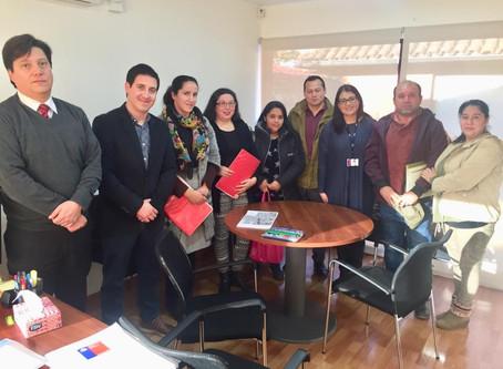 Acompañamos a vecinos de Villa Estación en reunión con Seremi de Bienes Nacionales