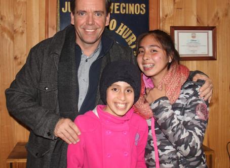 Harboe visita remodelada sede de la JJVV de Villa Padre Hurtado