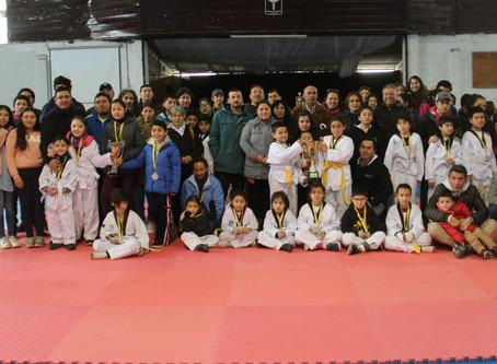 Asistimos al Torneo de Taekwondo Dragones Blancos en Chillán