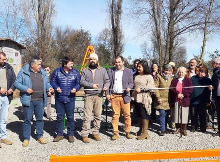 Participamos en la ceremonia de cierre del proyecto de la Junta de Vecinos Los Puquios de El Carmen