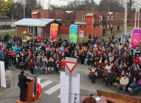 272 familias reciben sus viviendas en Chillán Viejo