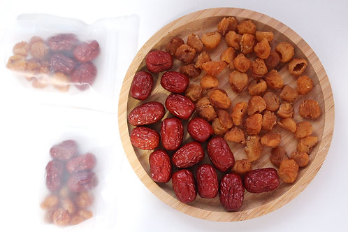 Dried Longan with Red Dates Tea