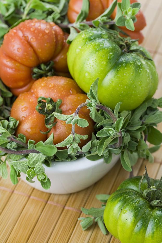 Frische italienische Tomaten