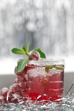 Gin-Cocktail mit Johannisbeersaft-2