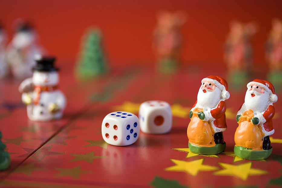 Weihnachten-Brettspiel