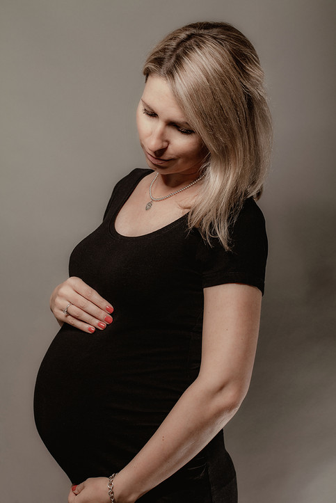 Babybauch-Fotoshooting