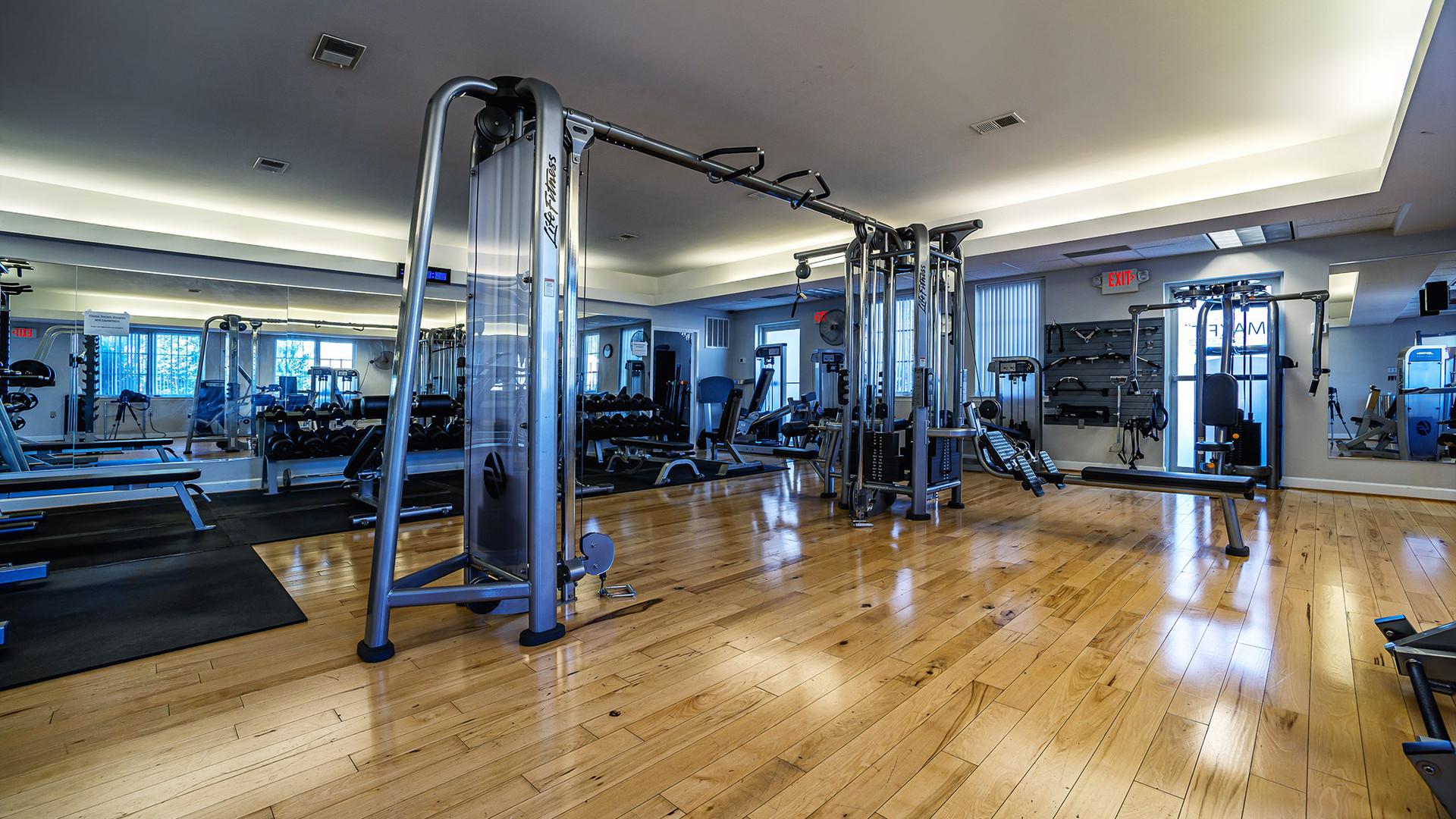 Weight Training Room