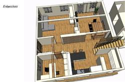 3D-Planung Erdgeschoss