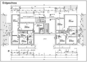 Wohnung-Grundrissplan