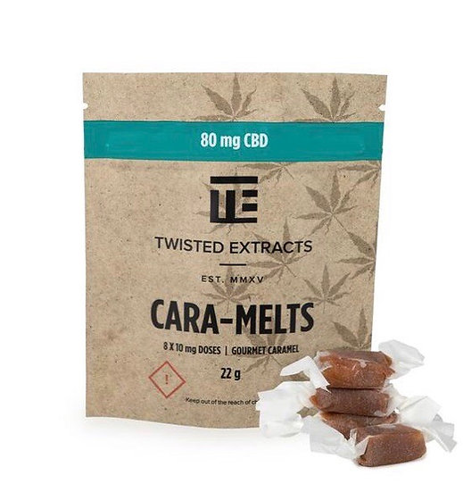Twisted Extracts - CBD CARA-MELTS