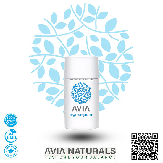 AVIA 333mg XS CBD Topical Stick Mini