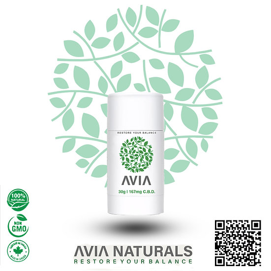 AVIA 167mg CBD Topical Stick Mini