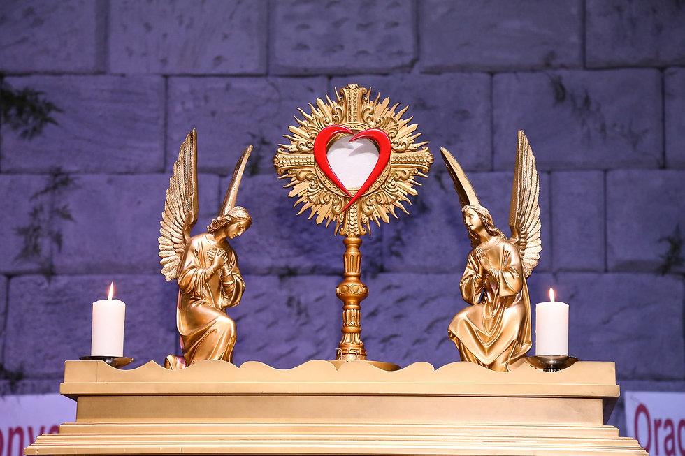 Santíssimo Saramento na Arca da Aliança