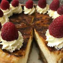 Delicious Rasberry Cake