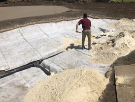 Bunker Construction at Cutten Fields