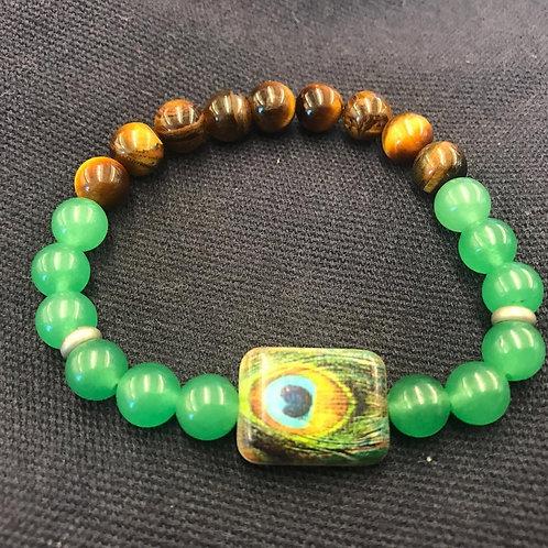 Green Adventurine + Tiger's Eye