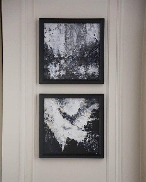 Серия из двух картин «Silent Storm» и «Storm»