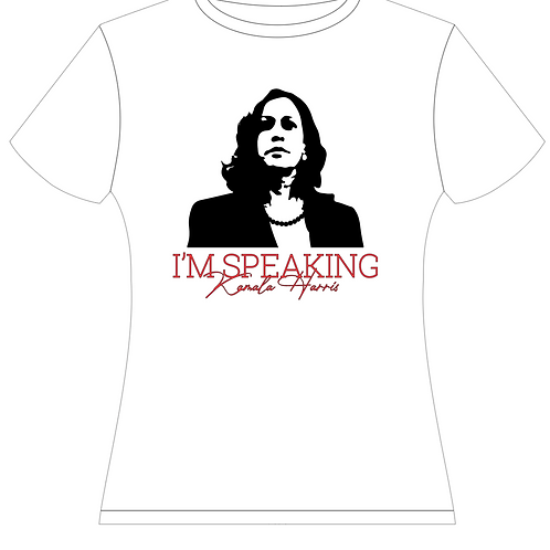 I'm Speaking Silhouette -Kamala Harris