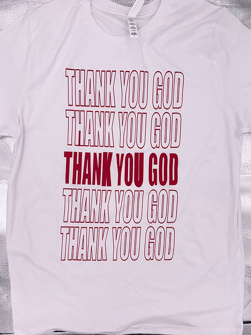 Thank You God T-shirt