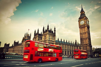 London and a double decker bus