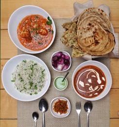 Indian Cuisine Meal