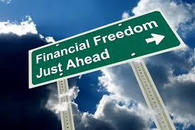 Financial freedom isn't a one way street