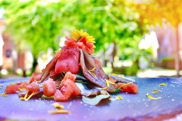 Filetto di trota salmonata affumicato a