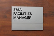 Global Precision Signage, Braille & Tactile Signs