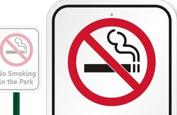 City Passes Park Smoking Ban