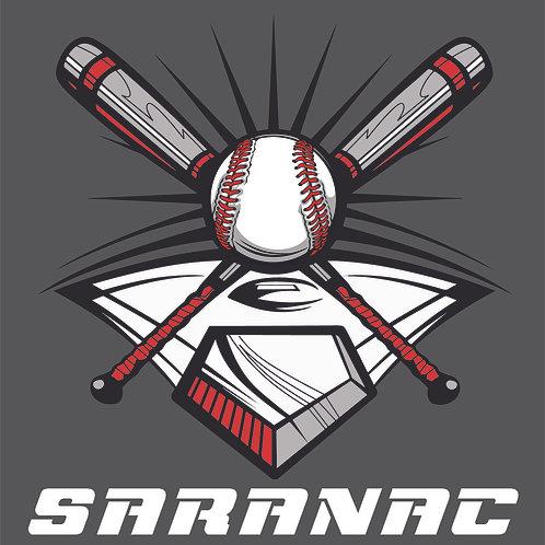 #1522 Cross Baseball Bats w-Diamond