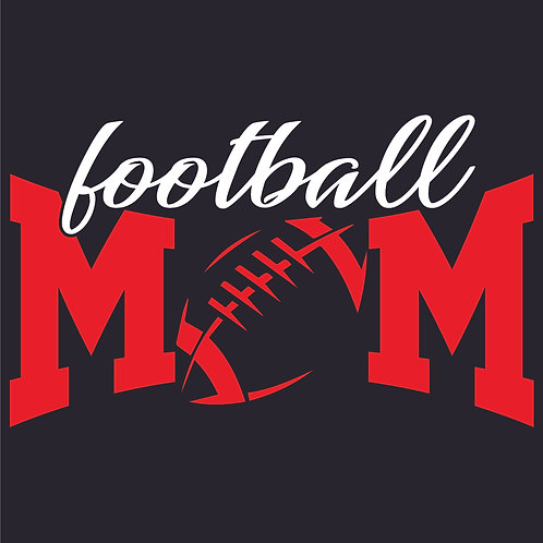 Design #1840 Football Mom Bow