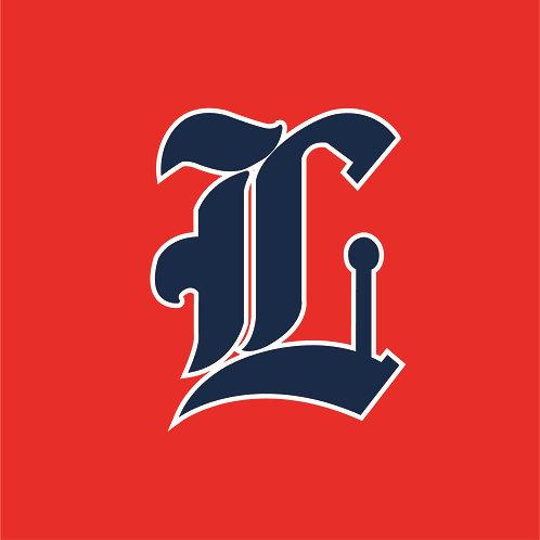 #1545P - Printed Baseball Logo LC