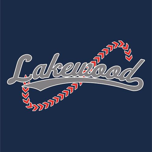 #1543 Baseball Script Stitches