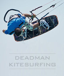 Dead Man Kite Surfing