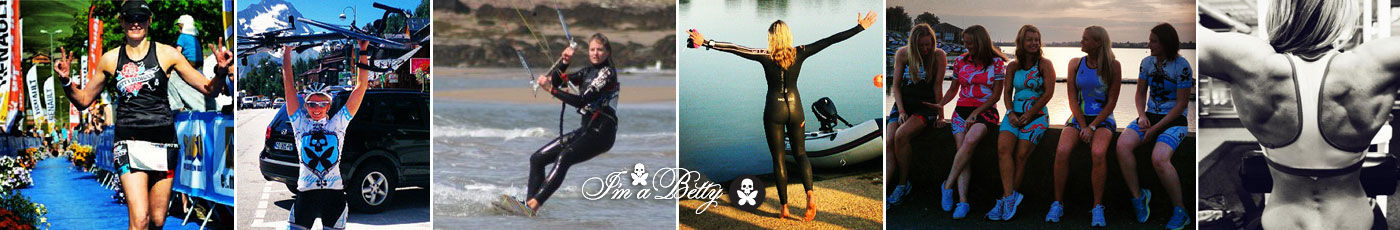 Lisa Melvin Fitness - Kite Surfing, Triathlons, Cycling, Racing, Swimming, Gym
