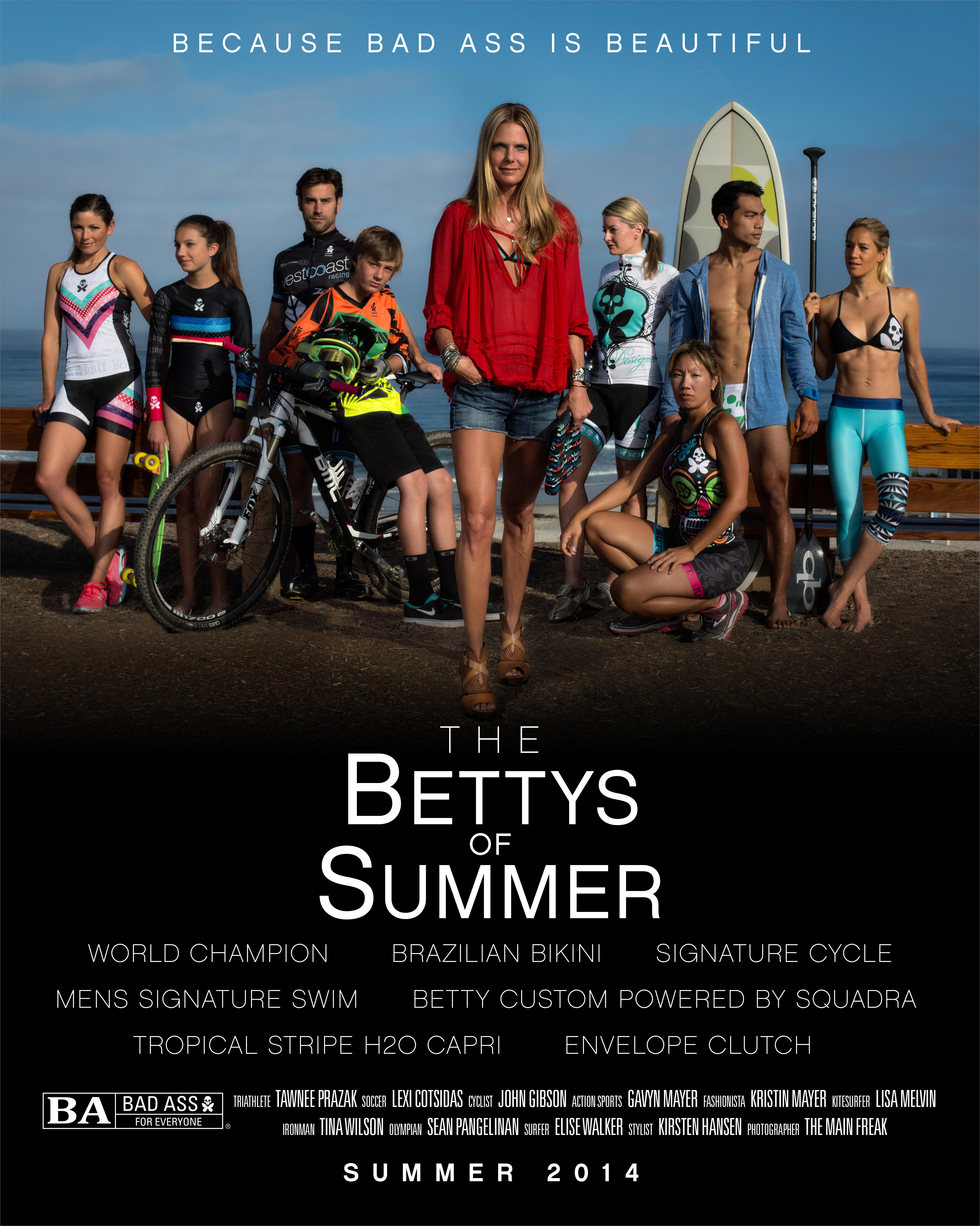 bettys of summer movie poster