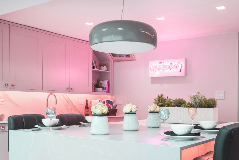 Pink is set to be the next big trend in kitchen design