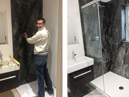 One Man. One Bathroom... DIY skills put to the test!