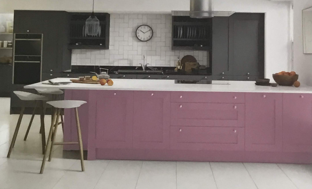 Are you looking for a pink kitchen ?