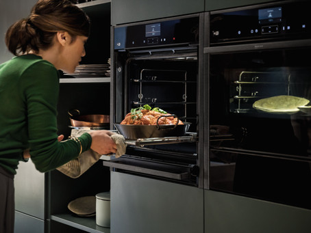 Creating the Ultimate Social Kitchen Space in 2021-with the Neff collection.